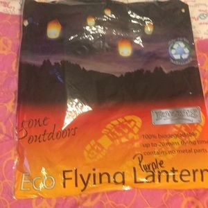 Eco flying lantern